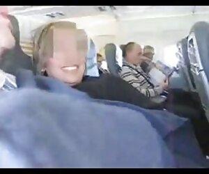 زن و شوهر اسپانیایی دیوانه در هواپیما