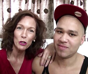 مامان بالغ واقعی توسط پسرش لعنتی.
