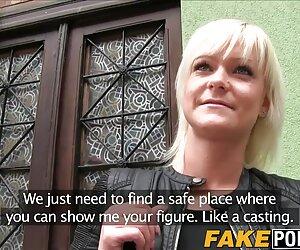دختر بلوند مجارستانی بیدمشک خود را با انتقاد از یک پسر