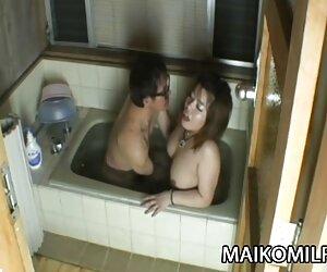 Kana Miyagi - همسر ژاپنی مانند رابطه جنسی خشن در عشق است