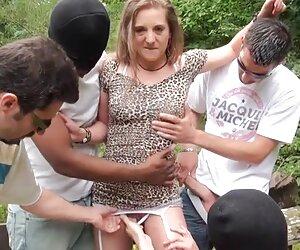 Big Cock Brunette Gangbang هاردکور نوجوان سه نفری
