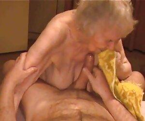 Cumshot در مادر بزرگ مادر بزرگ با 85 یو
