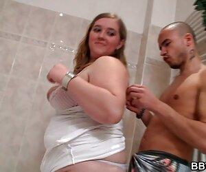 رابطه جنسی گرم با چربی در حمام